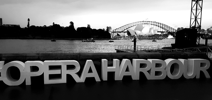 Handa Opera, Turandot, Sydney Harbour, April 23rd, 2016